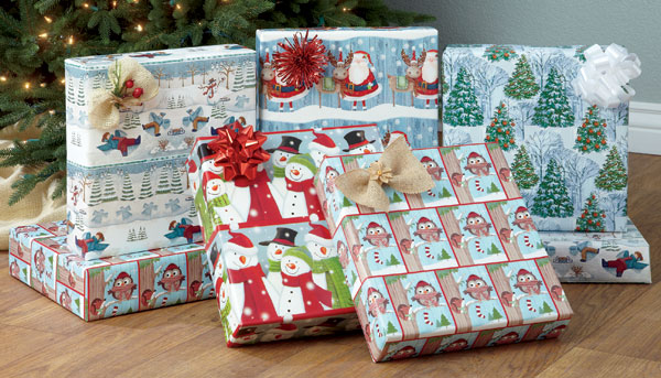 Christmas Wrap by Current Catalog