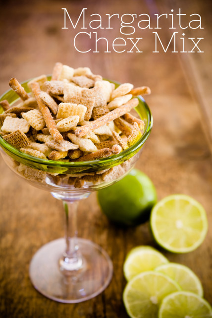 Chex Mix Ideas  margarita chex mix