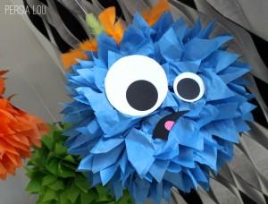 tissue paper monsters