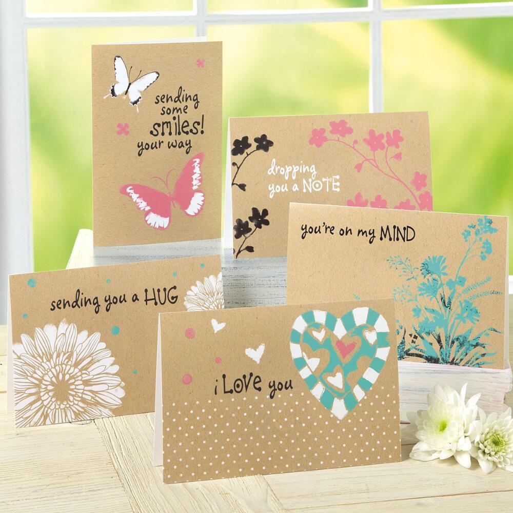 Kraft Friendship Cards